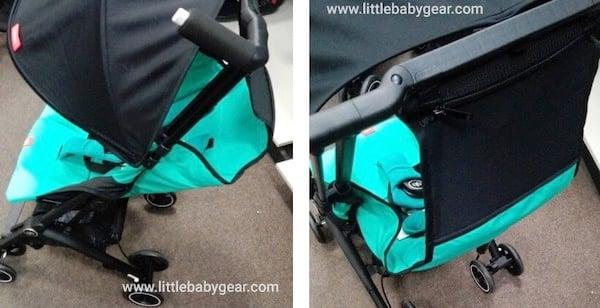 Pockit Plus umbrella Stroller - Recline Strap and Max. Seat Angle