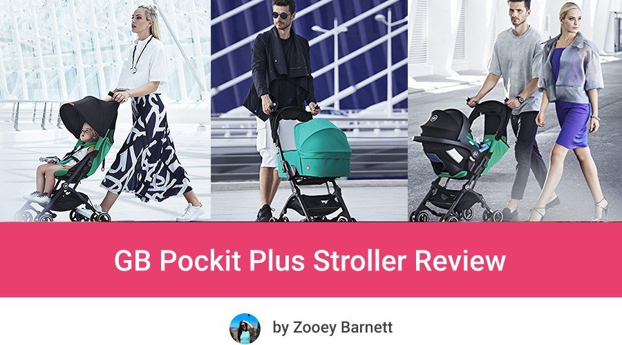 GB Pockit Plus Review Travel Stroller Lightweight Stroller Umbrella Stroller