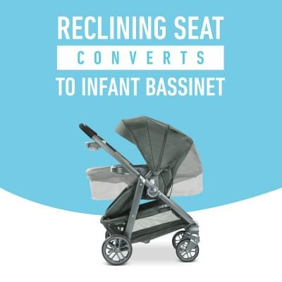 Seat converts into bassinet - Graco Modes