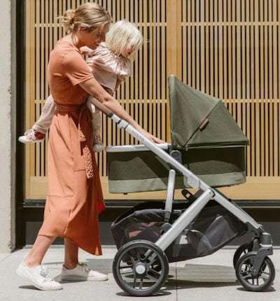 UPPAbaby VISTA V2 Stroller With Carry Cot