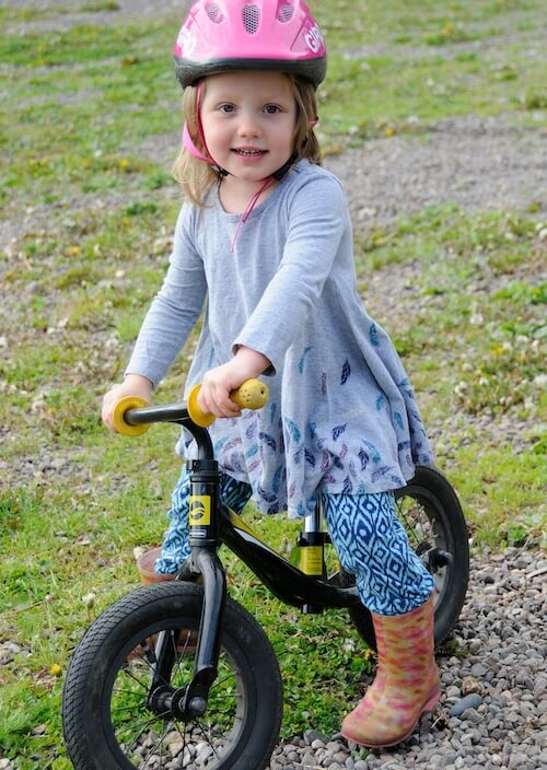 Balance bike is best for learning to cycle