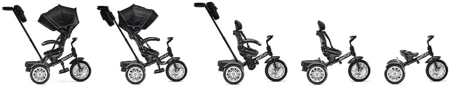 Bentley Tricycle Stroller is one of the trikes that feature reversible seat