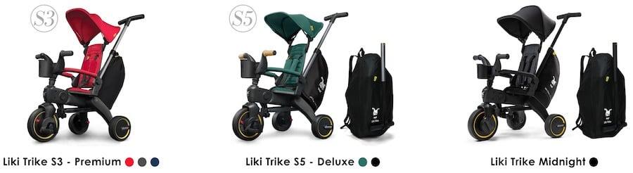 Doona Liki Trike S5 vs S3
