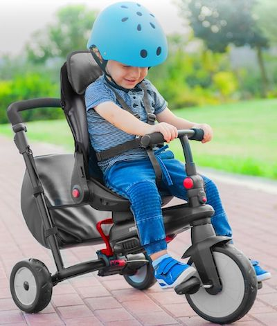 SmarTrike - Foldable Stroller that turns into tricycle