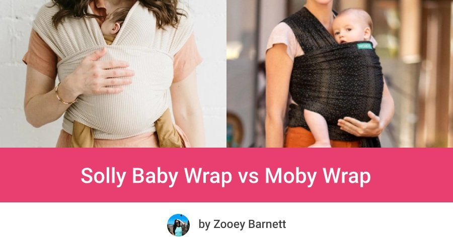 Sollybaby vs Moby Wrap