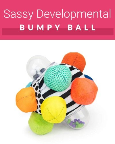 Activity ball for crawling babies