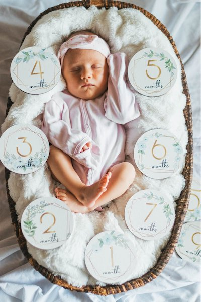Baby Monthly Milestone Signs