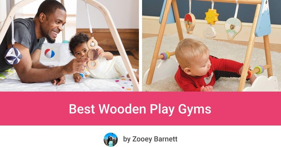 Best Non Toxic Organic Wooden Play Gym for babies