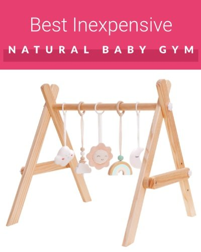 Crisschirs Wooden Baby Play Gym
