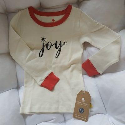 Finn+Emma Joy Christmas pajamas for kids