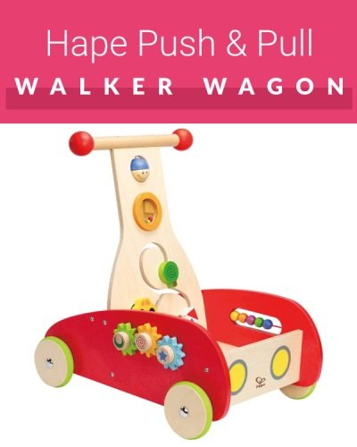 Hape Push Pull Wagon Walker