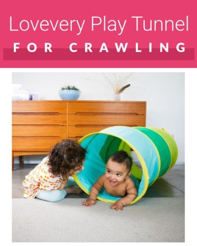 Lovevery Crawling tunnels for toddlers