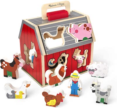 Melissa and Doug Barn Sorter