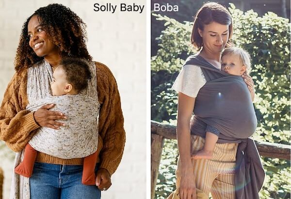 Solly Baby Breathable Wrap Carrier