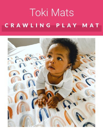 Toki Mats For Crawling Baby and Tummy Time