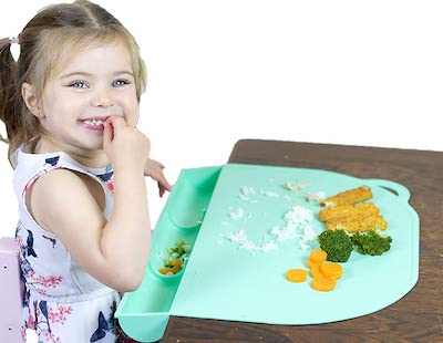 UpwardBaby Placemat With Food Catching Compartment