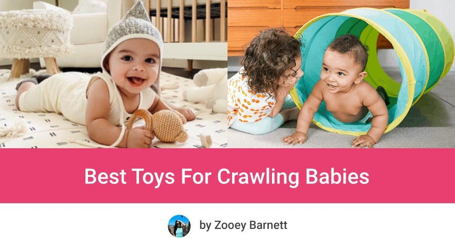 best crawling toys for babies, best toys for crawling babies