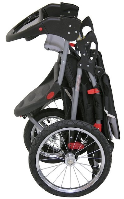 Baby Trend Expedition Jogging Stroller Fold