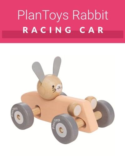 Rabbit Racing Car PlanToys