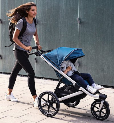 new jogging stroller for 2021 Thule Urban Glide 2