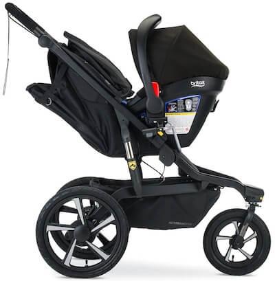 BOB Alterrain PRO with infant car seat