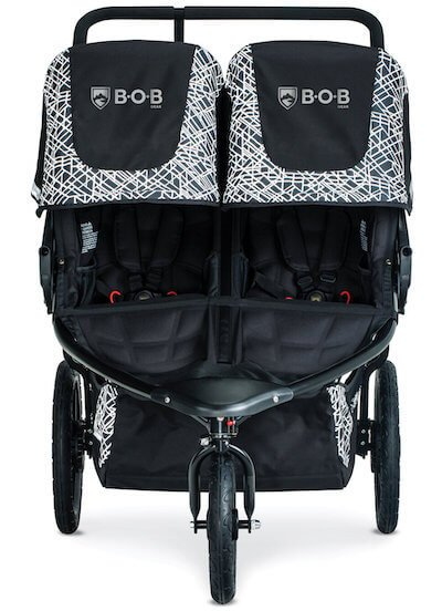 BOB Revolution Flex Duallie has roomy seats suitable for older children