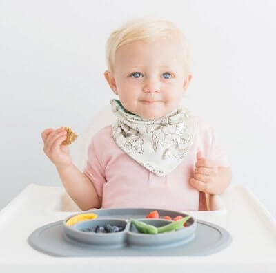 EZPZ Mini Mat with built in kids plate