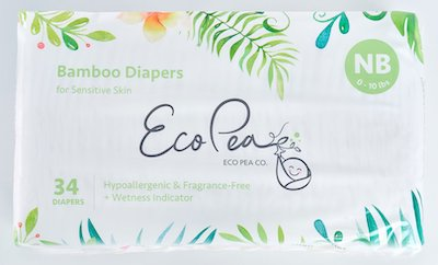 Eco Pea Co Best Biodegradable Diapers