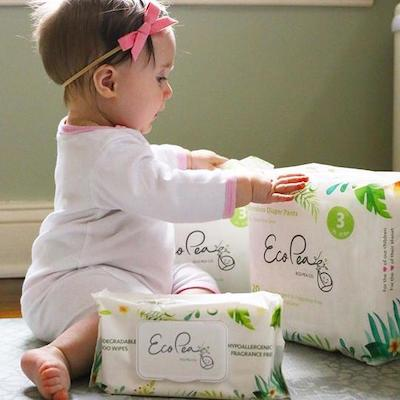 Eco Pea Co Wipes and Diapers