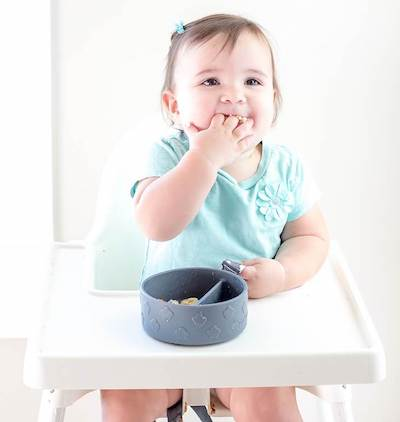 Grabease Best Silicone Baby Suction Bowl