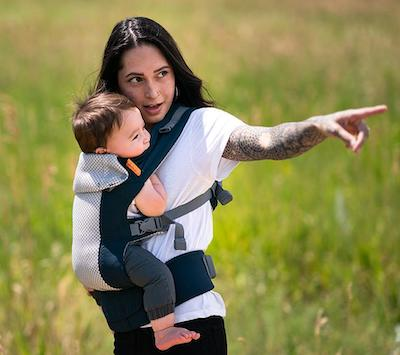 Beco Gemini Cool - Mesh Baby Carrier For Summer