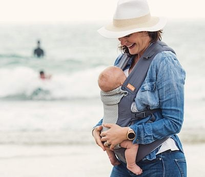 Beco Gemini Cool One of the Lightweight baby carriers