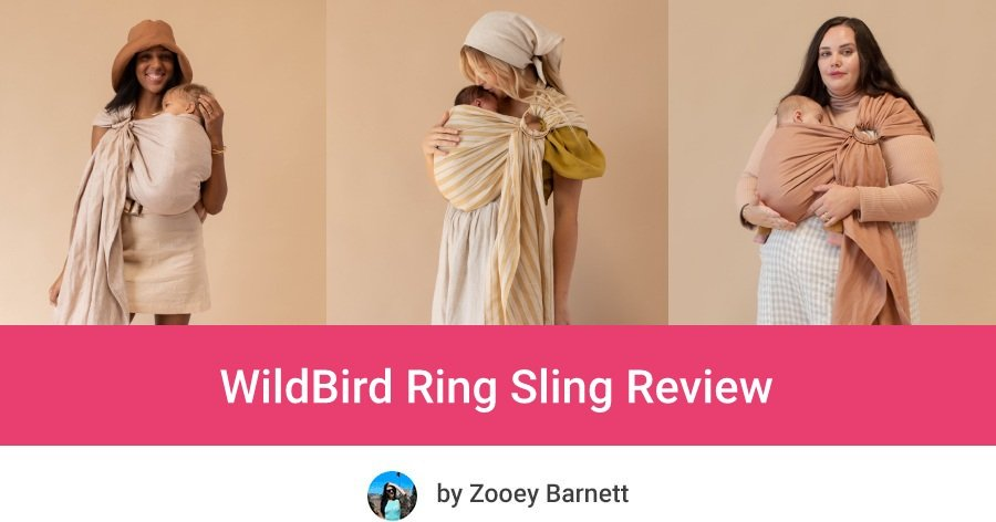 WildBird best Ring Sling for newborns