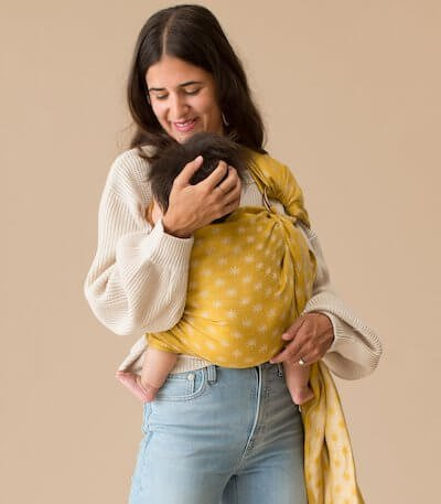 WildBird Slings are suitable from newborn to toddlerhood