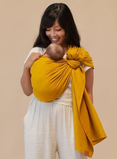 you can use WildBird sling for newborn baby wildbird modal vs linen