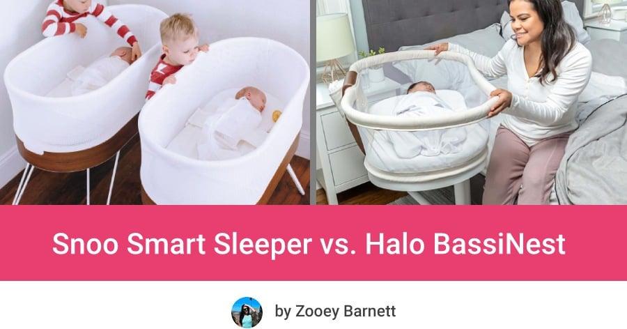 Snoo Smart Sleeper vs Halo BassiNest Swivel Sleeper